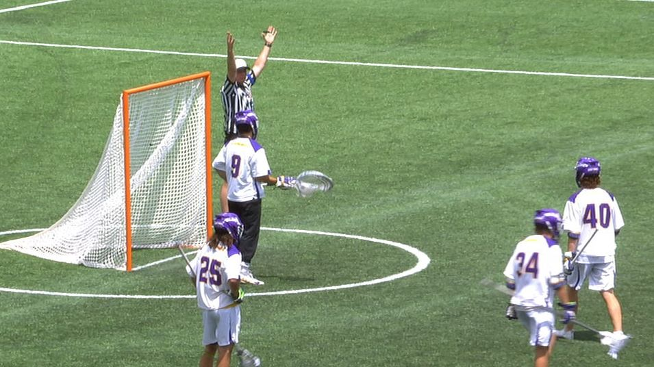 Yale's goal beats first-half buzzer