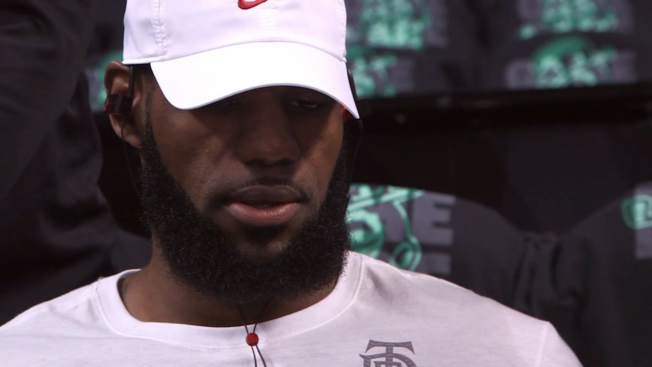 LeBron not focused on playing 100th game
