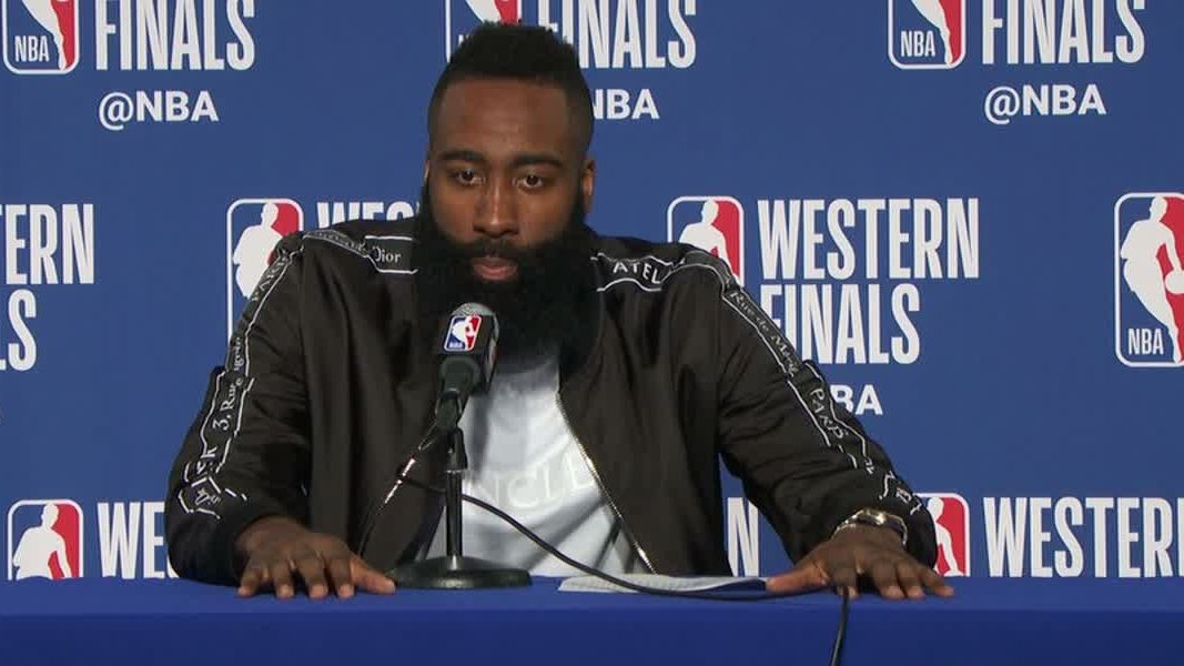 Harden says Rockets are confident heading into Game 7