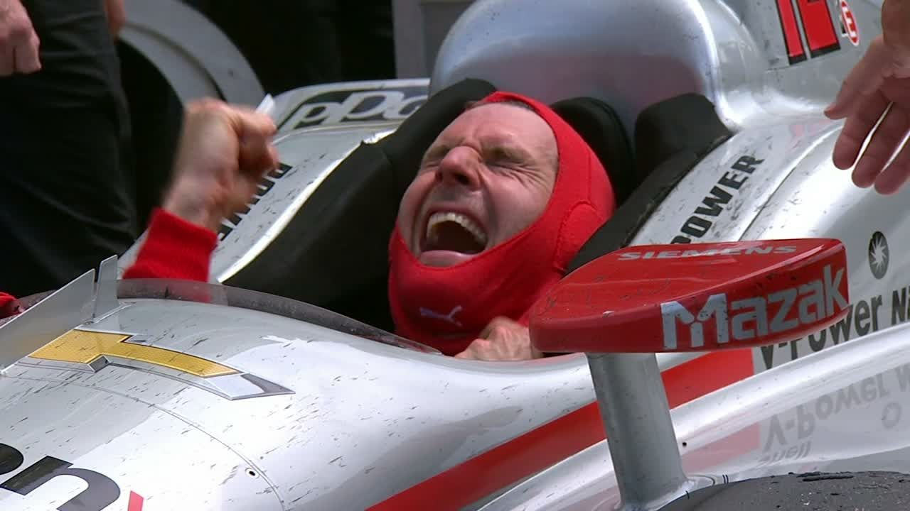 Will Power emotional after capturing elusive Indy 500 title