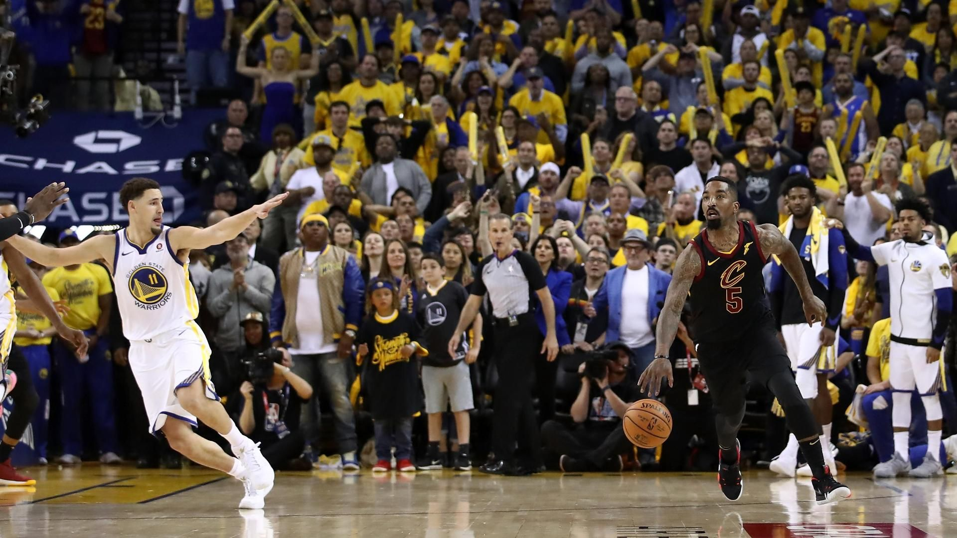 JR, Cavs blow chance at win in regulation