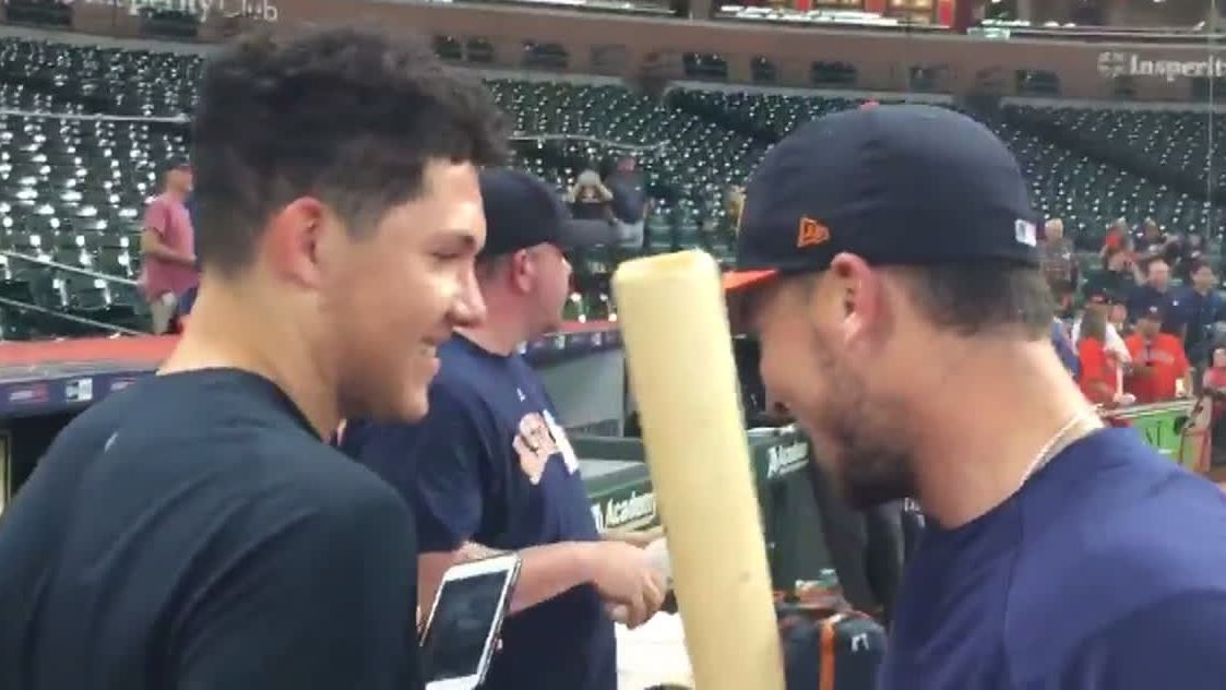 Bregman tells his brother he's been drafted