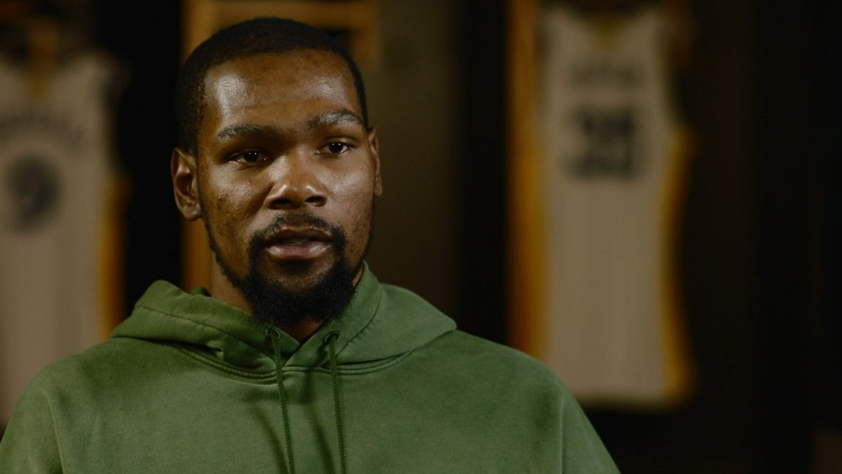 KD: 'I plan on staying with the Warriors'
