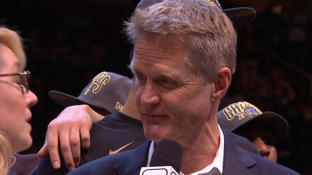 Kerr calls 2018 the 'hardest' of the three titles