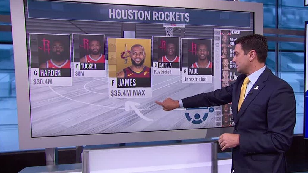 How the Rockets can get LeBron