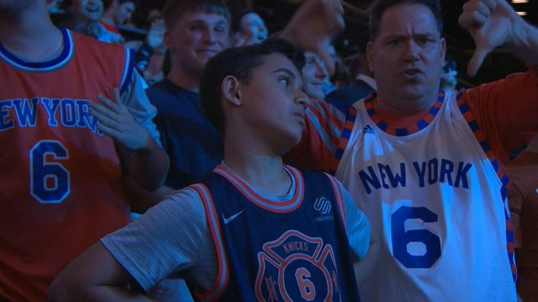 Fan who booed Porzingis disagrees with Knox pick