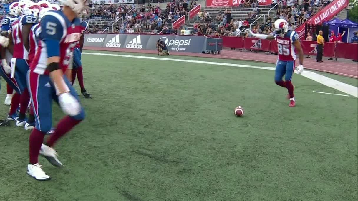 Alouettes go with World Cup-themed celebration