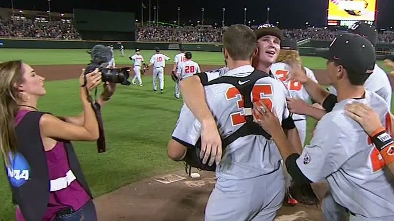 Oregon State advances to  first CWS finals since '07