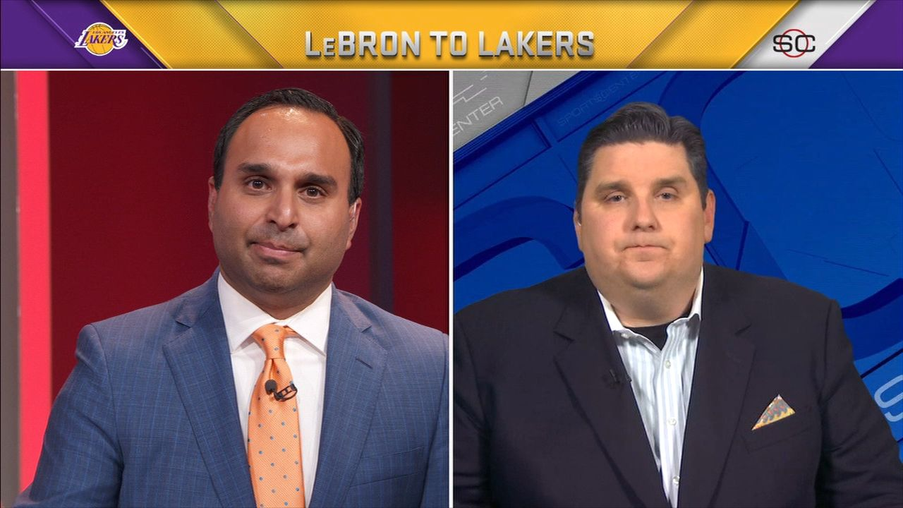 Windhorst: Contract reflects LeBron's lack of trust in Cavs