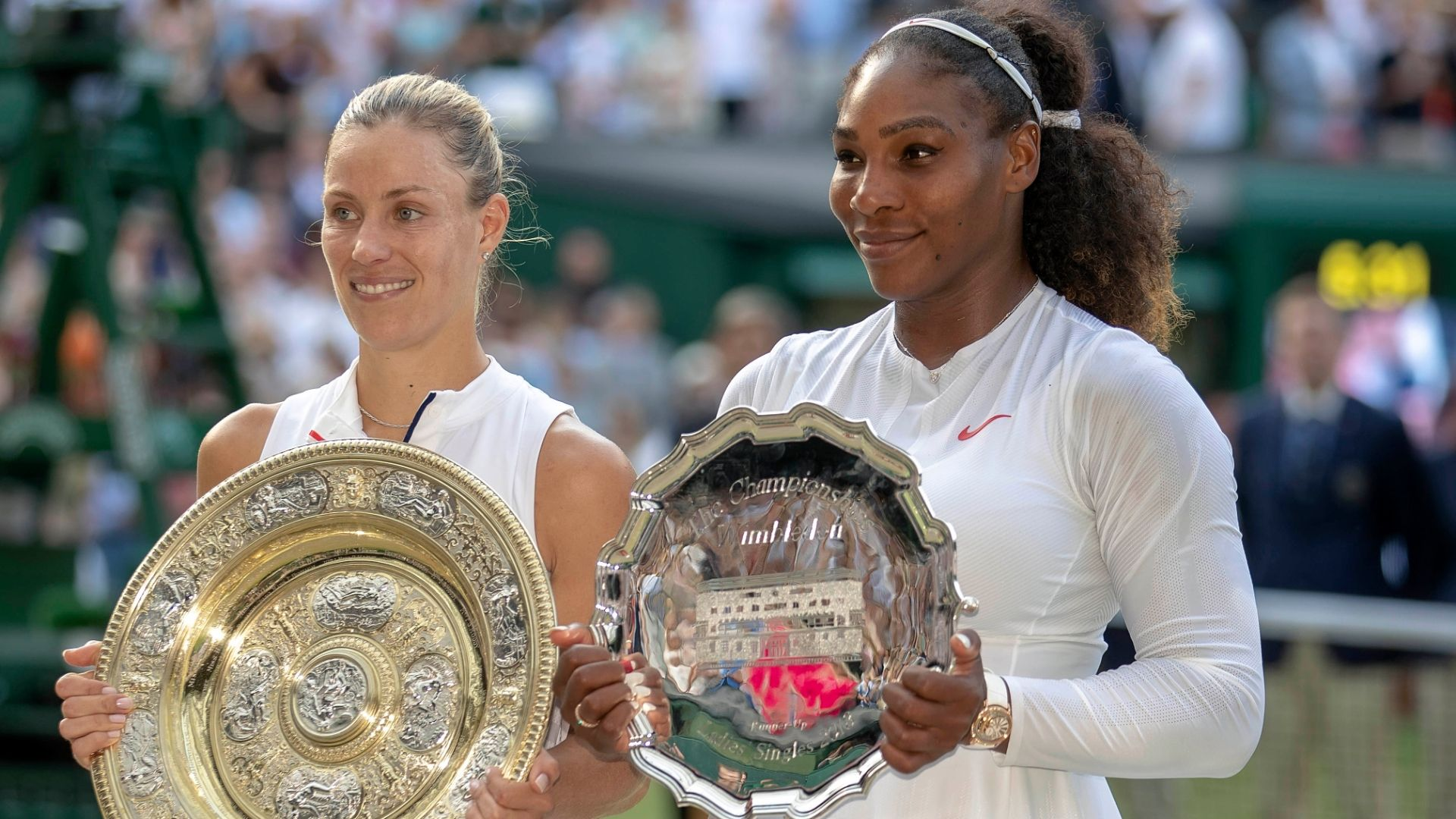 Kerber defeats Serena in straight sets for Wimbledon title