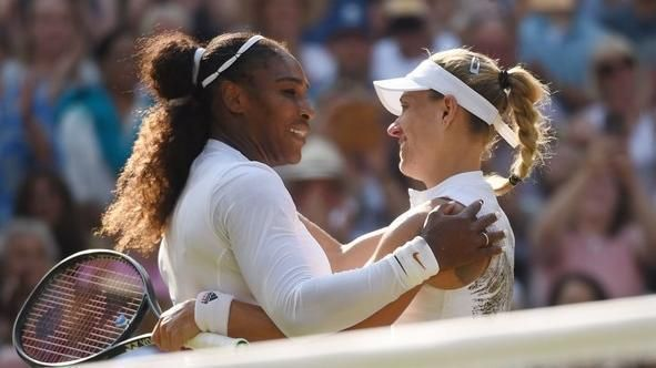 Kerber denies Serena 8th Wimbledon title