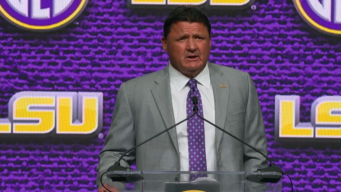 Coach Orgeron says Ensminger is 'the guy' for OC job