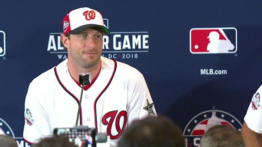 Scherzer honored to be starting ASG in front of hometown fans