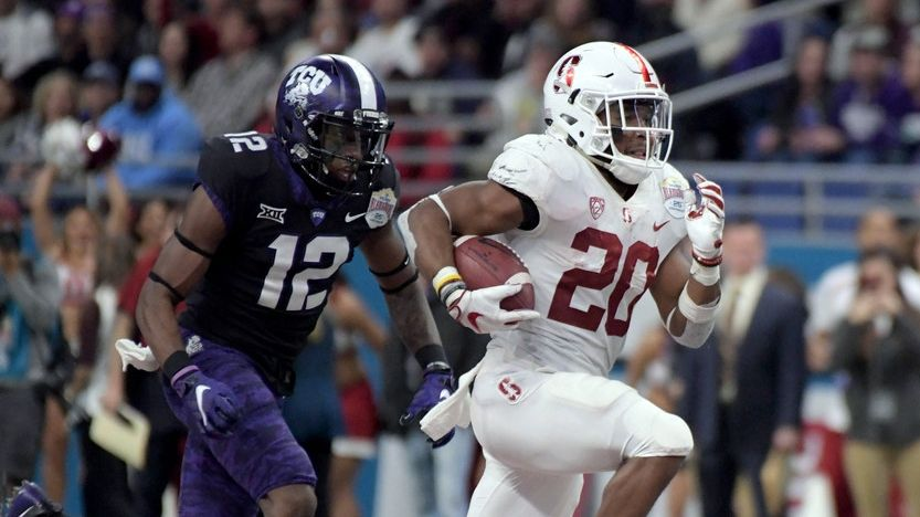 Stanford's Love a running back who demands your attention