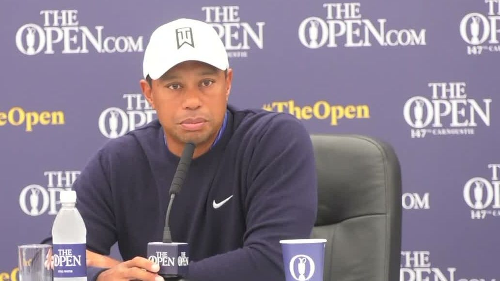 Tiger happy to be back at Carnoustie