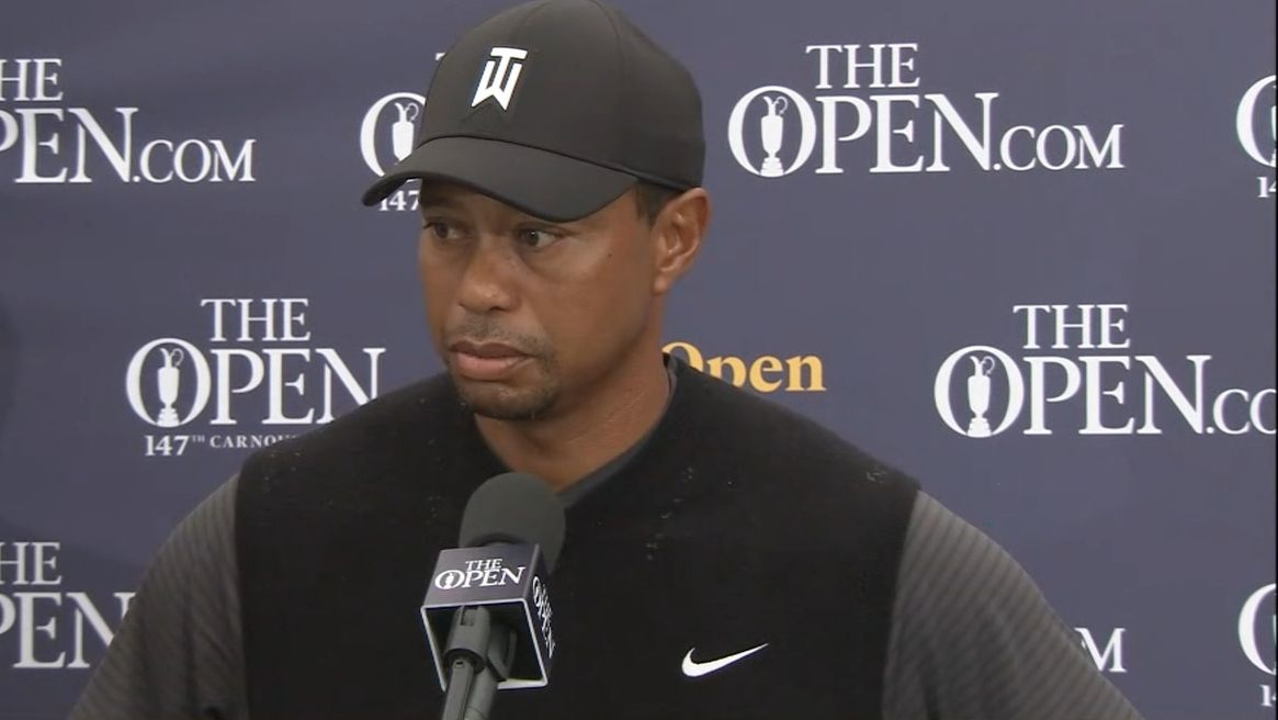 Tiger believes he played better in the first round