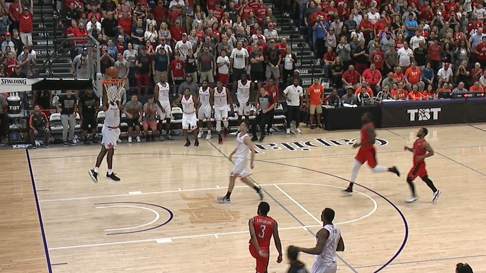 OSU's alumni team wins TBT game on alley-oop slam