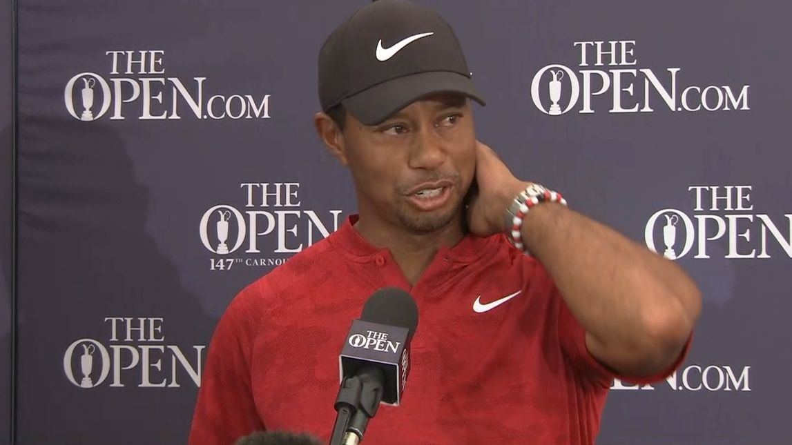 Tiger on Open loss: 'Ticked off at myself'