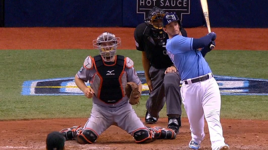 Robertson wins it for Rays with walk-off grand slam