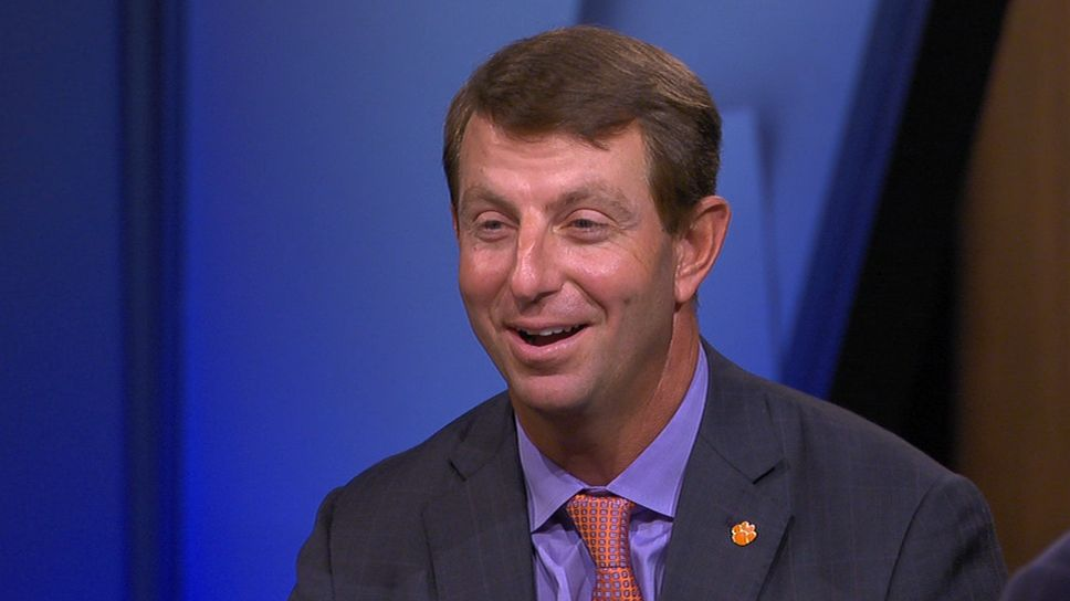 Dabo motivated by Stephen A.'s support of Bama