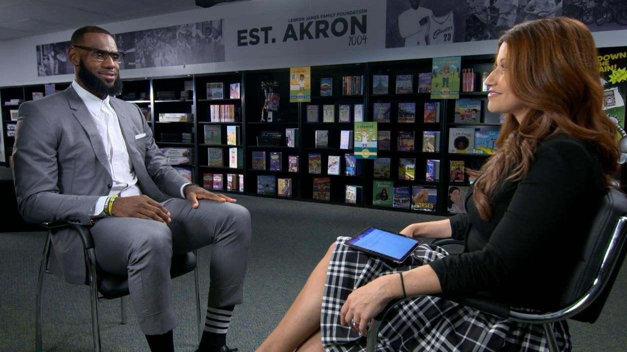 LeBron on opening school: 'A moment I'll never forget'
