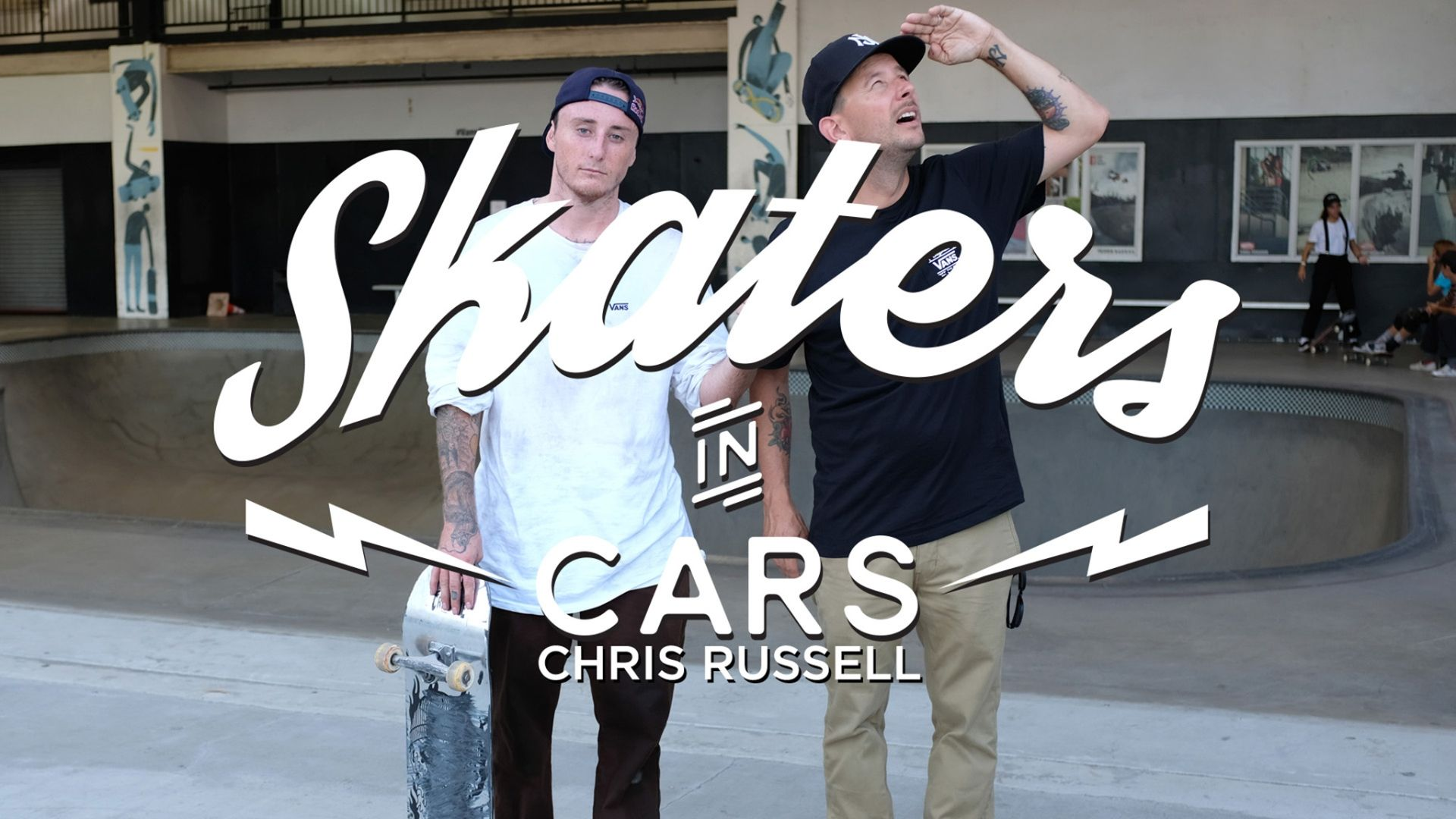 Skaters In Cars Looking At Spots: Chris Russell