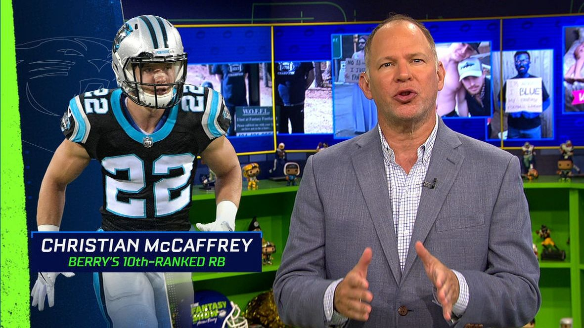 Berry intrigued by McCaffrey as 'the focal point' of offense