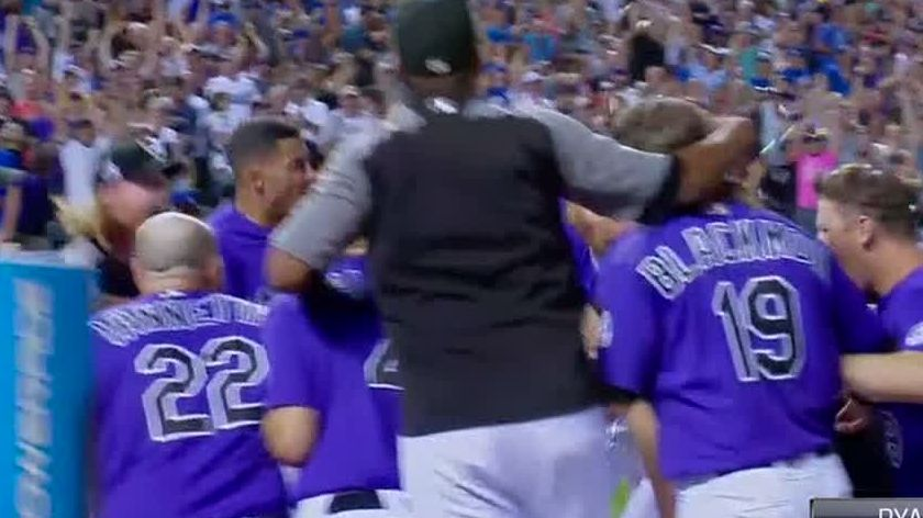 McMahon's 3-run, walk-off HR provides dramatics for Rockies