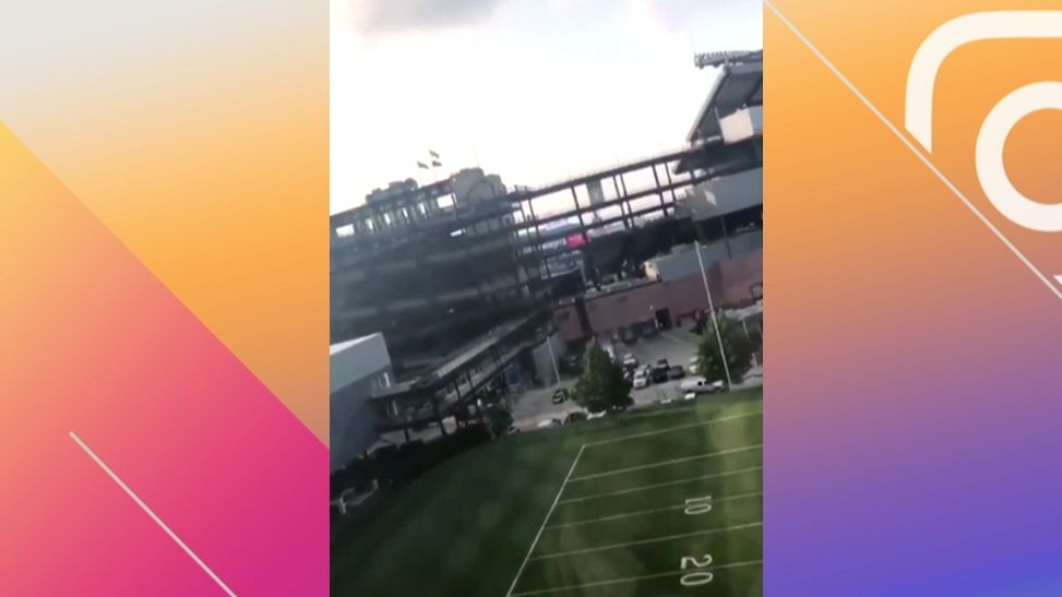 Embiid flies to Foxborough for Eagles' preseason game