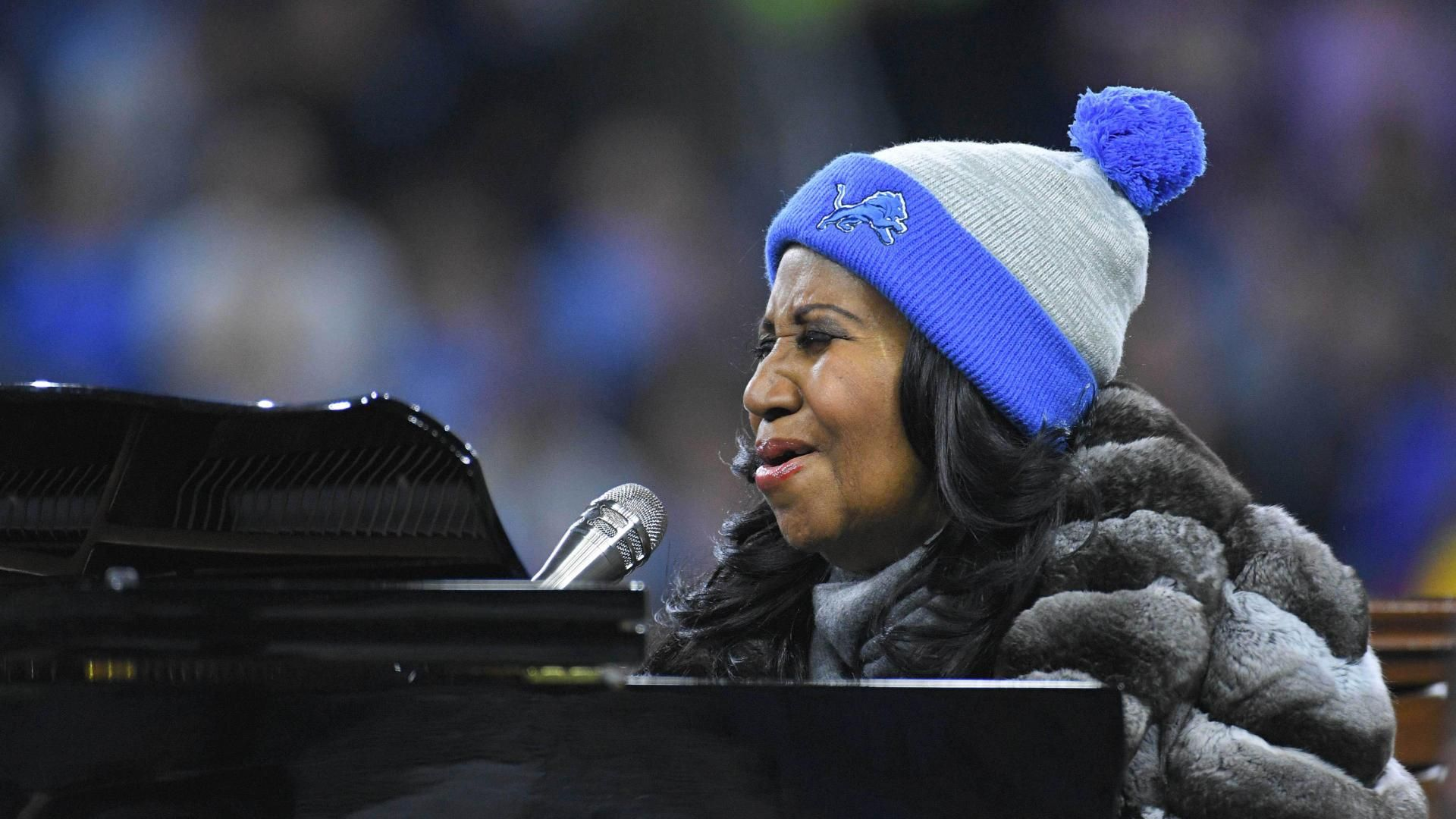 Aretha Franklin's soaring anthem renditions
