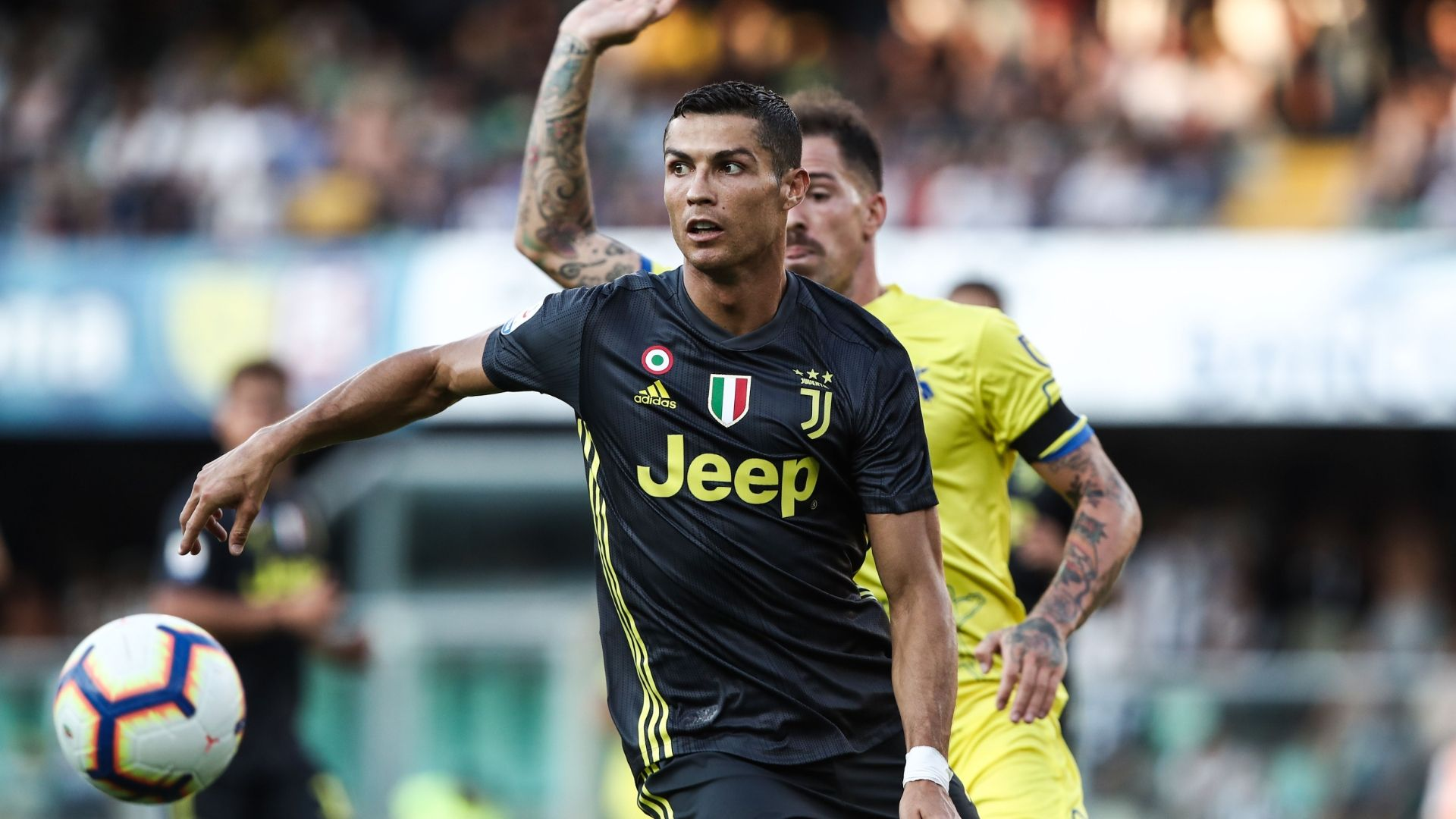 Cristiano Ronaldo Juventus debut vs. Chievo