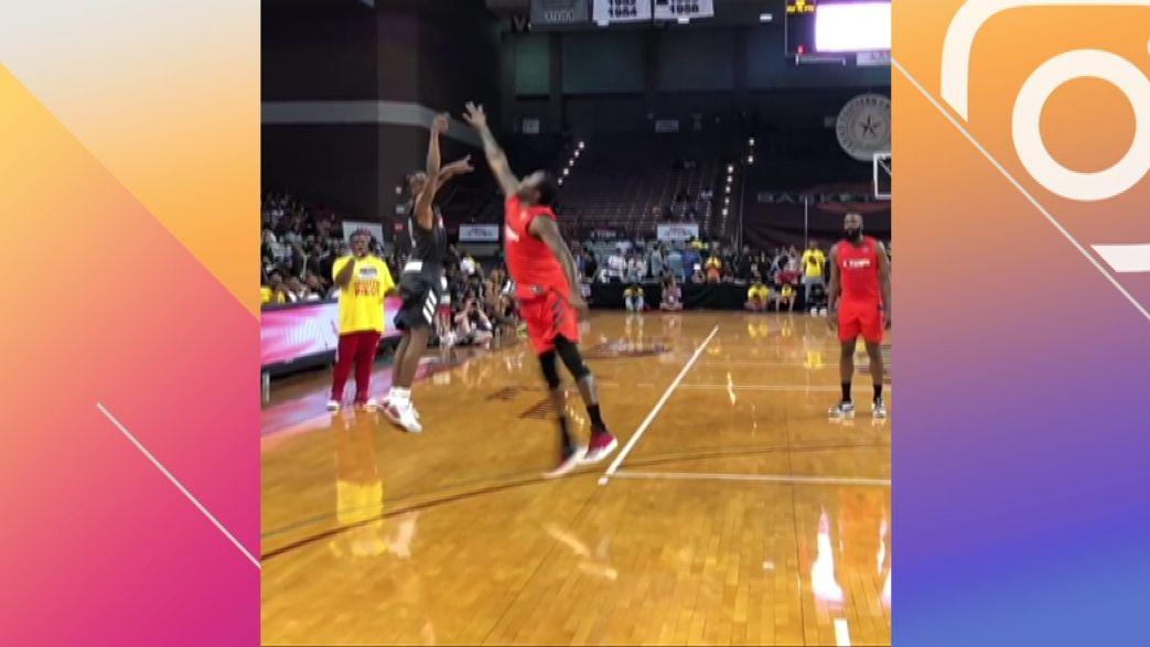 Travis Scott gets bucket over Meek, defends Harden