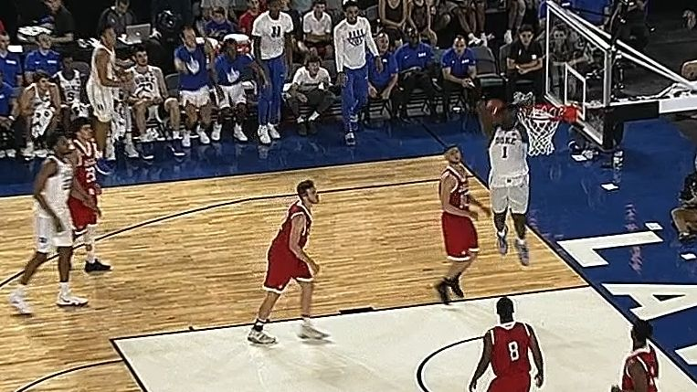 Zion throws down nasty dunks, drops 36 against McGill