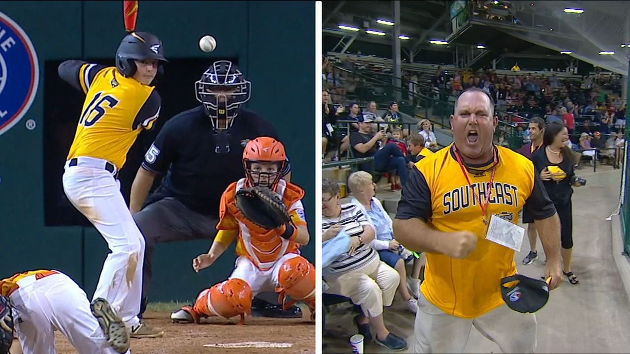 Georgia Little League dad goes crazy for son's game-tying HR