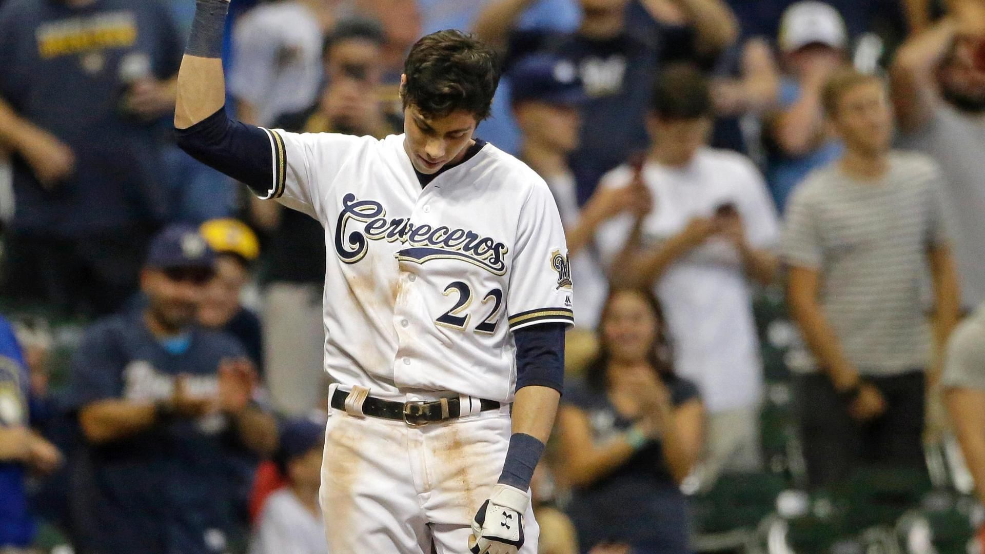 Yelich makes history with second cycle vs. Reds