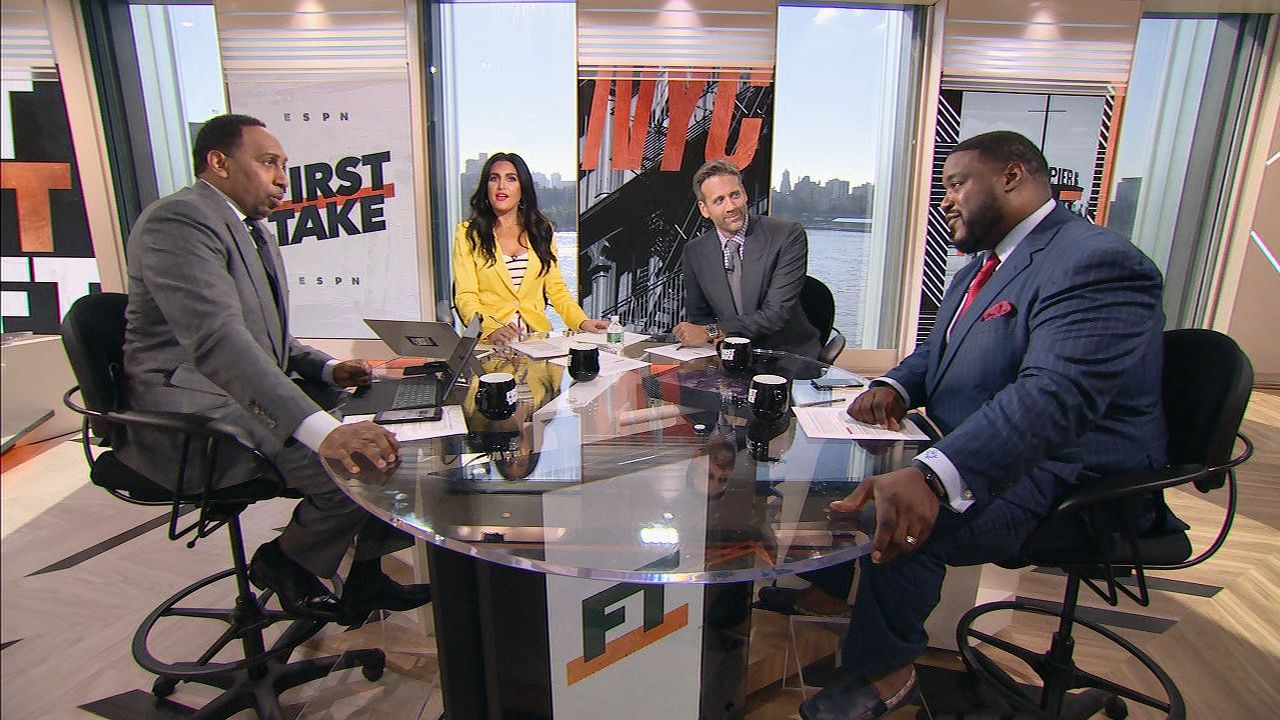 Stephen A., Max, Woody have differing takes on Bell's partying