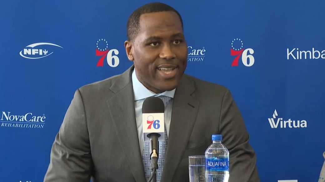 Brand optimistic about 76ers' title hopes