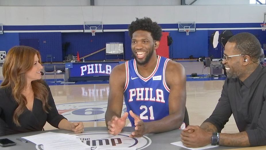 Embiid: Ayton 'about to get his ass kicked'