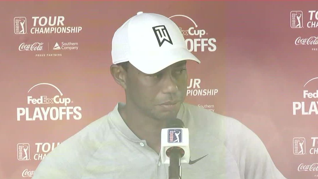 Tiger: 'Rounds like today are hard'