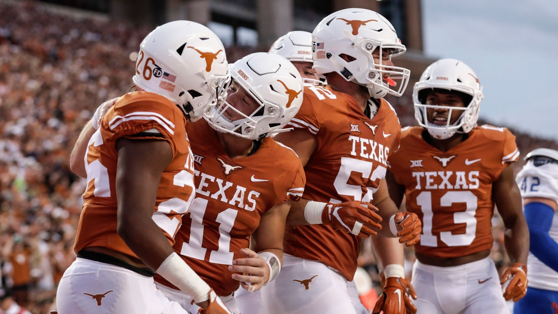 Texas look to reclaim Lone Star State against TCU