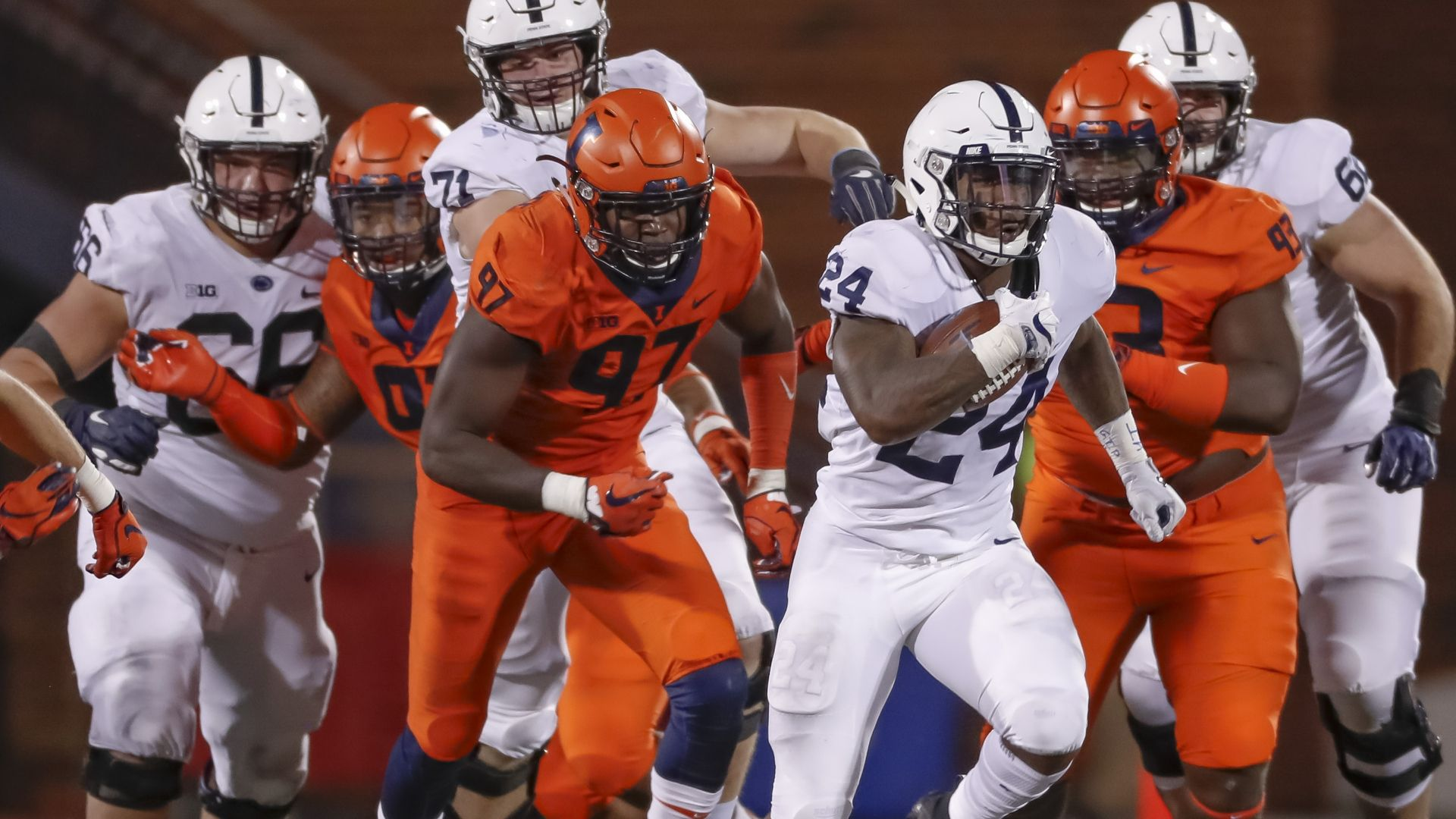 Penn State takes off in 2nd half to avoid a stumble