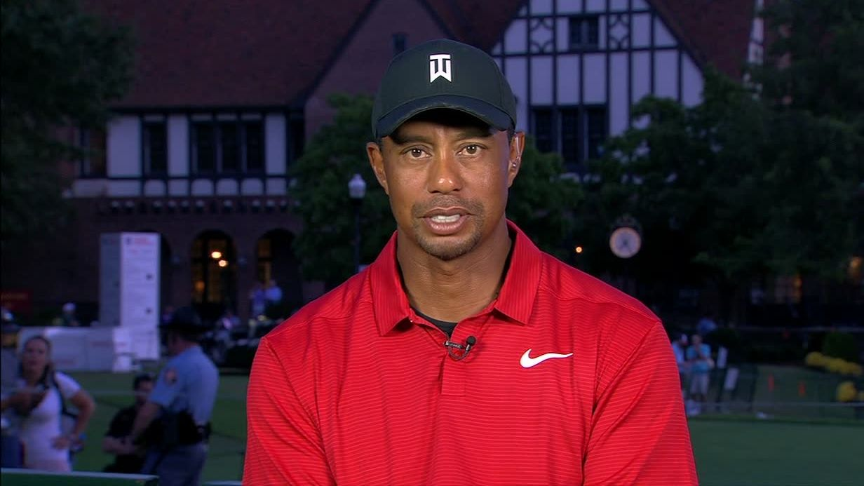 Tiger calls fan support 'amazing'