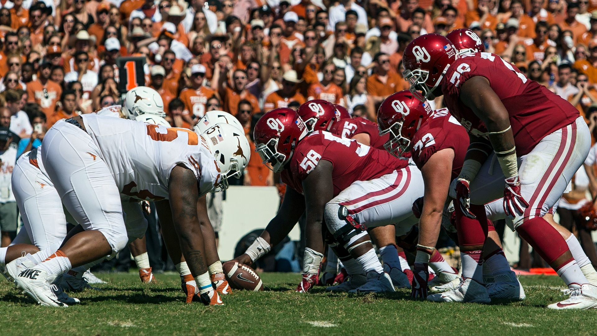 Oklahoma-Texas always heated in Red River Rivalry