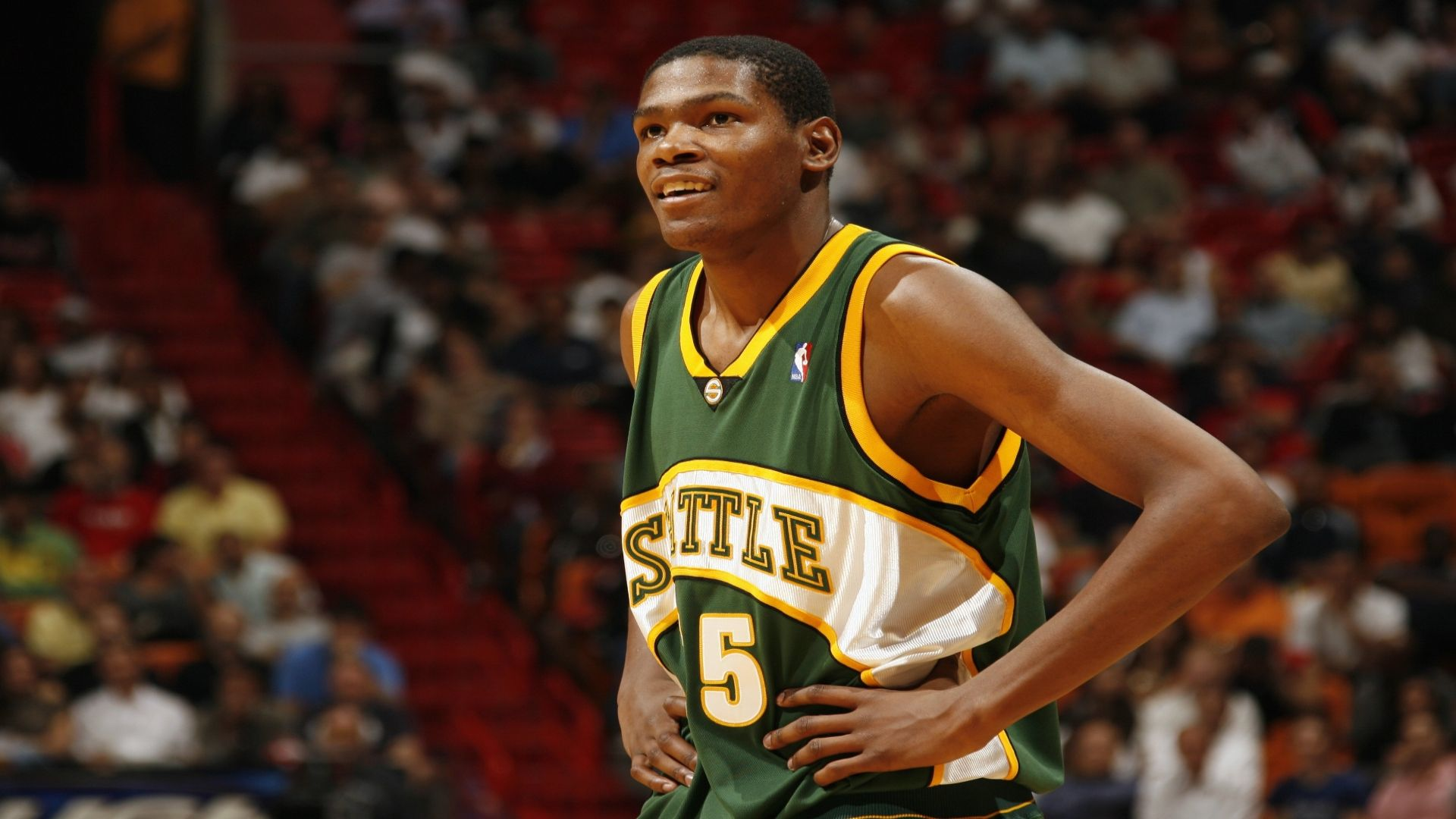 Durant shined as a 19-year-old SuperSonic