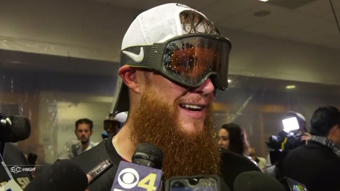 Kimbrel: 'It got a little exciting there at the end'