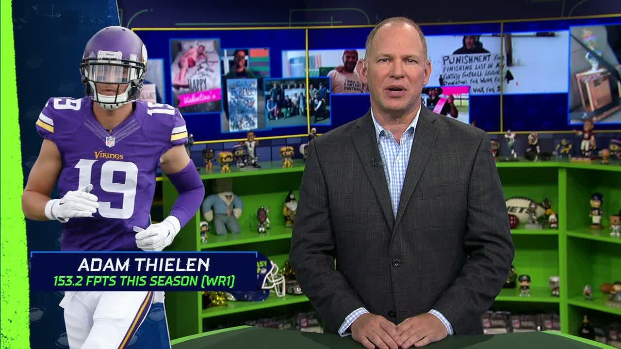 Berry says Thielen is top WR in Fantasy