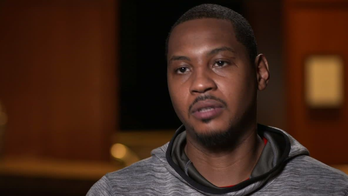 Carmelo says Rockets feel like a 'natural fit'