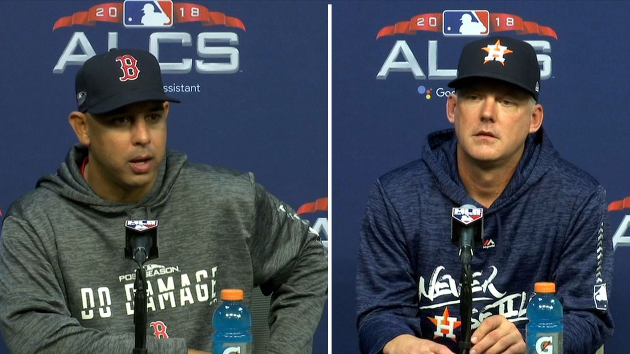 Hinch and Cora respond to Astros cheating speculation