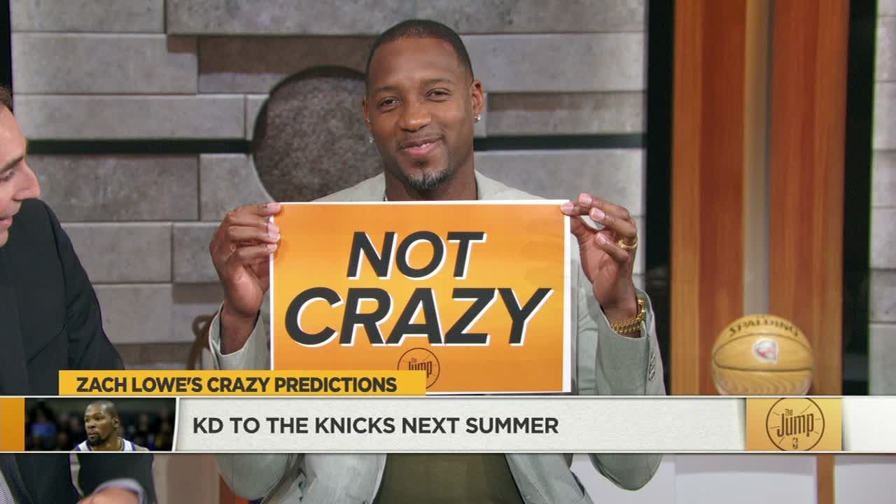 T-Mac: Durant to Knicks is 'not crazy'