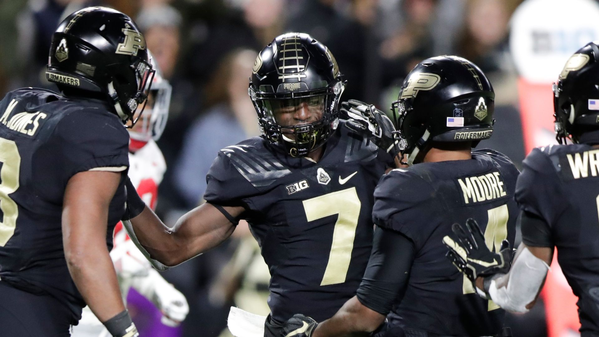Purdue stuns undefeated Ohio State